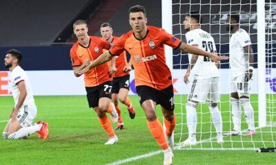 UEFA Avrupa Ligi'nde yarı finale Shakthar ve Sevilla yükseldi