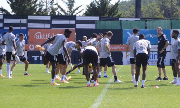 Beşiktaş'ta yeni sezon hazırlıklarını devam ediyor