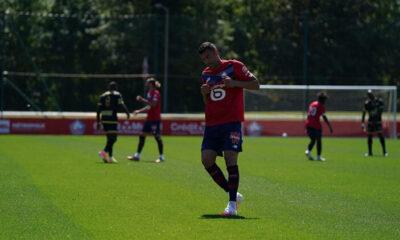 Burak Yılmaz Lille ile ilk maçına çıktı