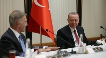 Cumhurbaşkanı Erdoğan, Trabzonsporu kabul etti