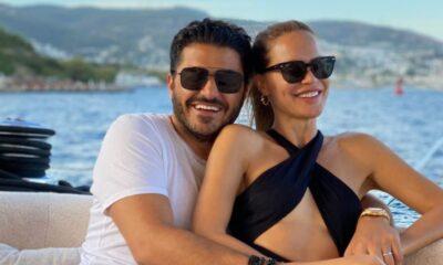 Ebru Şallı, eşinin doğum gününü kutladı