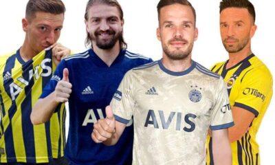 Fenerbahçe'den dikkat çeken transfer rakamları! Son 5 yılda…