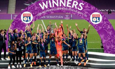 Olympique Lyon, kadın futbolunda üst üste 5. kez Avrupa'nın en büyüğü oldu