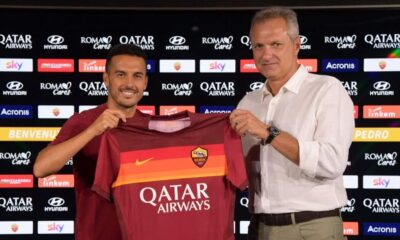 Roma, Chelsea'den ayrılan Pedro'yu transfer etti