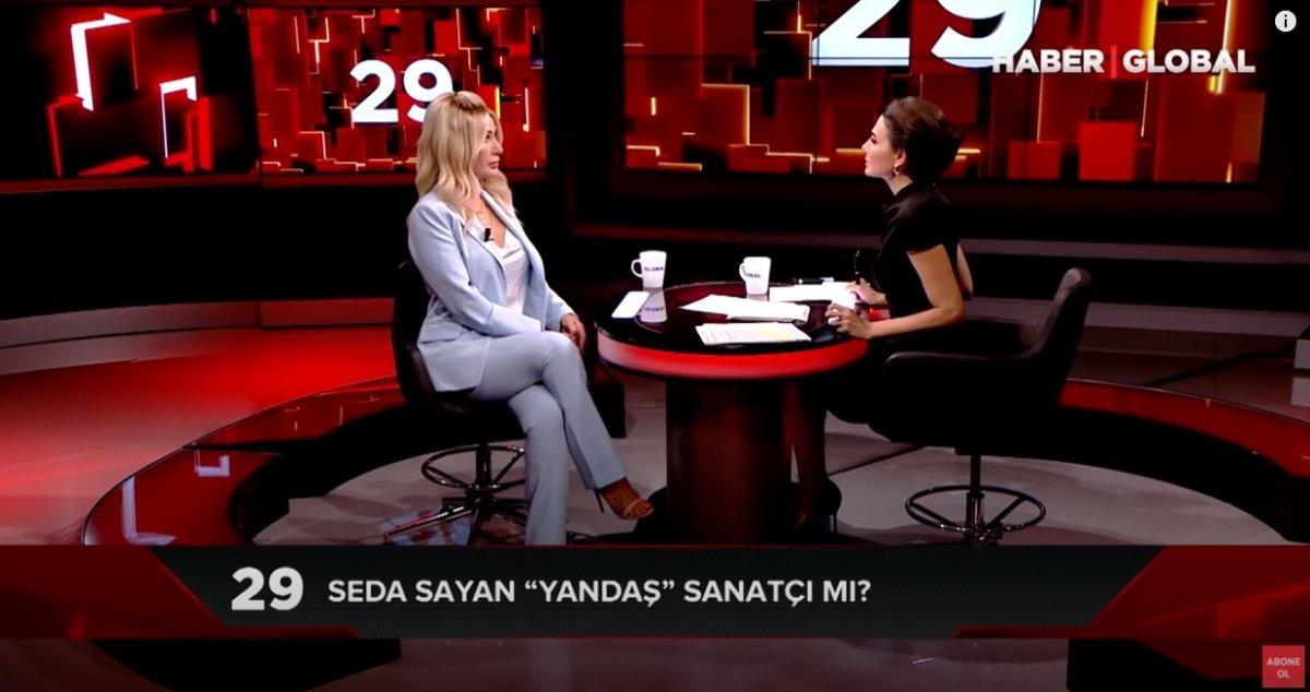 Seda Sayan'a 'Yandaş mısınız' sorusu