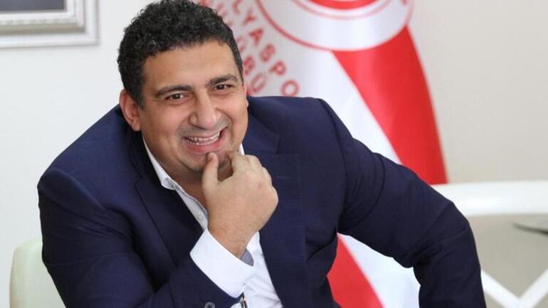 Son Dakika | Antalyaspor Başkanı Ali Şafak Öztürkten Sinan Gümüş açıklaması