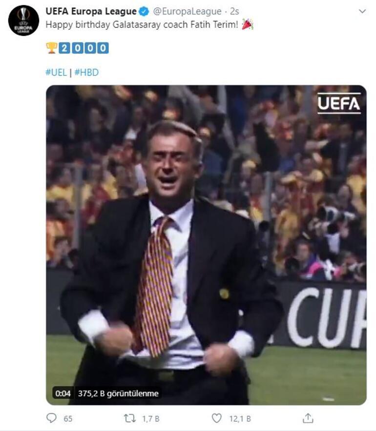 UEFA ve FIFA'dan Fatih Terim mesajı