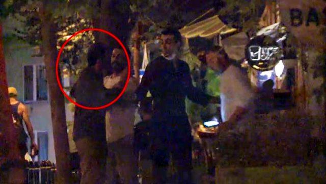 Ufuk Bayraktar basın mensuplarına saldırdı