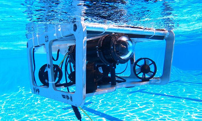 Üniversite öğrencileri insansız su altı aracı tasarladı