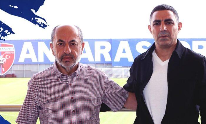 Ankaraspor'un yeni teknik direktörü Mustafa Özer oldu