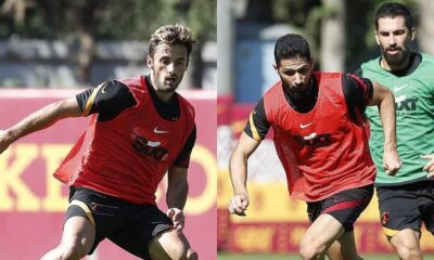 Galatasaray'da Alanyaspor hazırlıkları! Etebo, Emre Akbaba ve Saracchi takımla çalıştı…