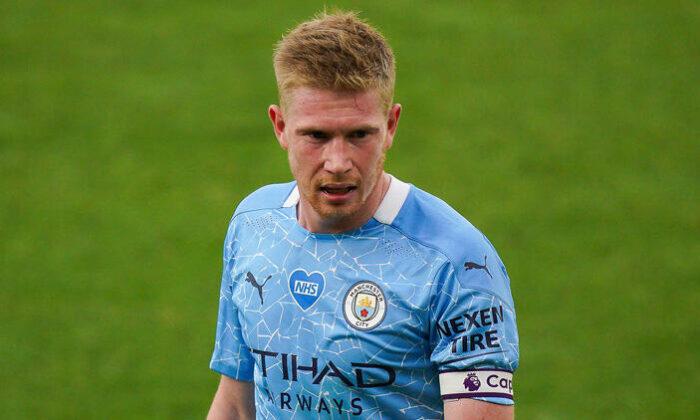 Premier Lig'de sezonun en iyisi Kevin De Bruyne!