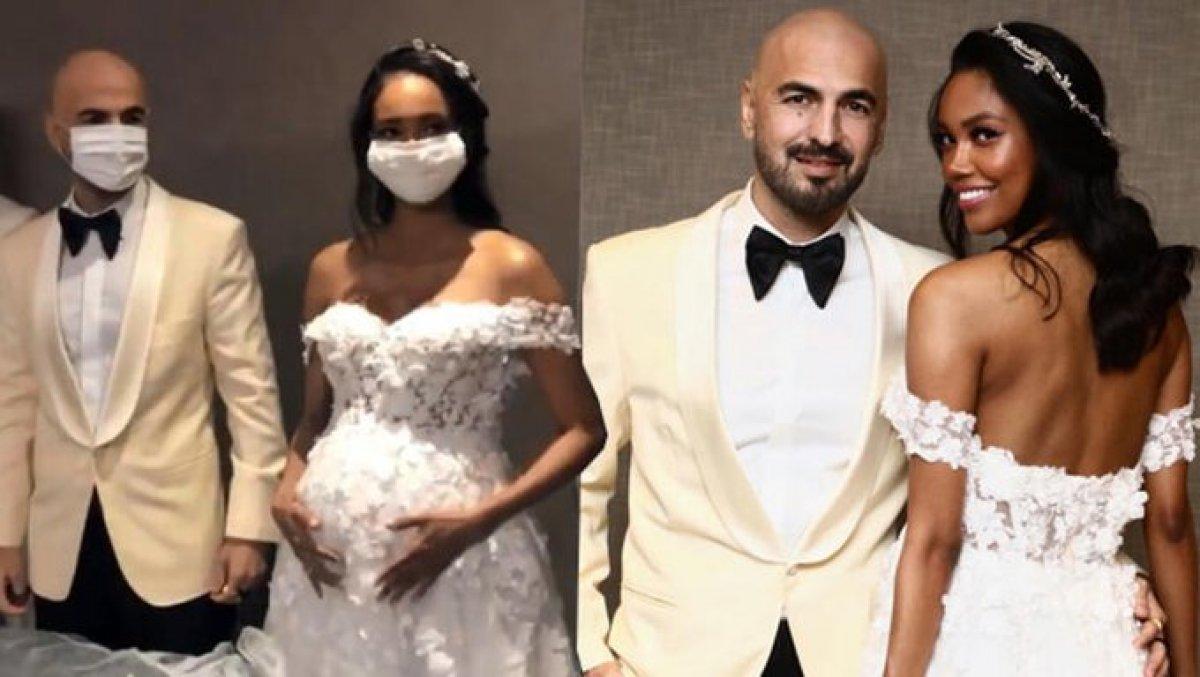 Soner Sarıkabadayı hamile sevgilisi Camelo Lopez ile evlendi #1