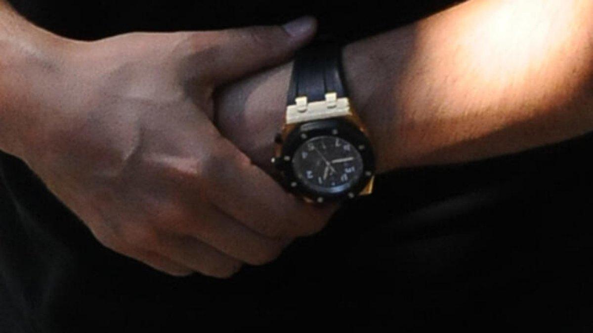 Tolgahan Sayışman'ın kolundaki saat 300 bin TL