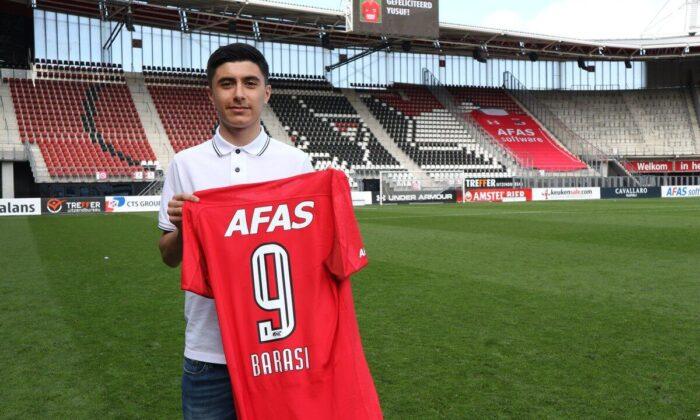 AZ Alkmaar forması giyen gurbetçi Yusuf Barası'nın tercihi Türkiye oldu