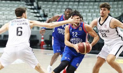 Beşiktaş: 74 – Anadolu Efes: 81