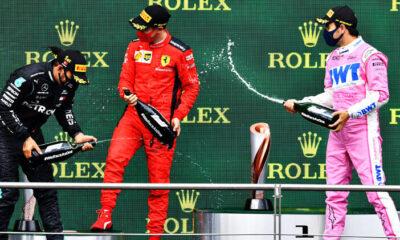 Formula 1'de şampanya tartışması