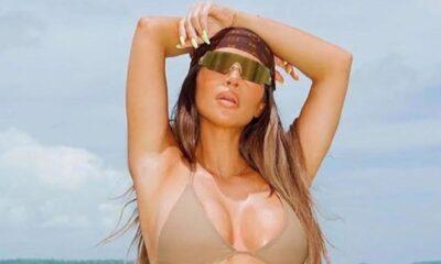 Kim Kardashian'dan 40. yaş pozu