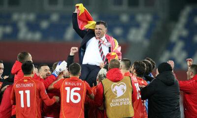 Kuzey Makedonya, EURO 2020 biletini tek golle aldı!