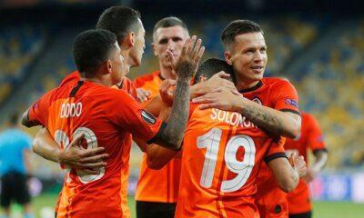 Shakhtar Donetsk 3 golle çeyrek final biletini kaptı!