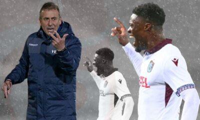 Son Dakika Haberi | Trabzonspor-BB Erzurumspor maçına damga vuran an! Abdullah Avcı'dan sonra bir ilk…