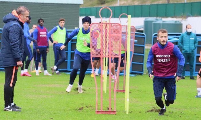 Trabzonspor'da BB Erzurumspor hazırlıkları! Taktiksel çalışmalar…
