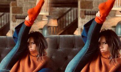 Victoria Beckham'dan karantina pozu