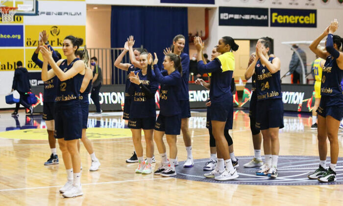 Fenerbahçe Kadın Basketbol Takımı'nda bir oyuncunun koronavirüs testi pozitif çıktı
