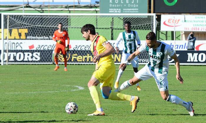 Giresunspor 2 – 0 Eskişehirspor maç sonucu
