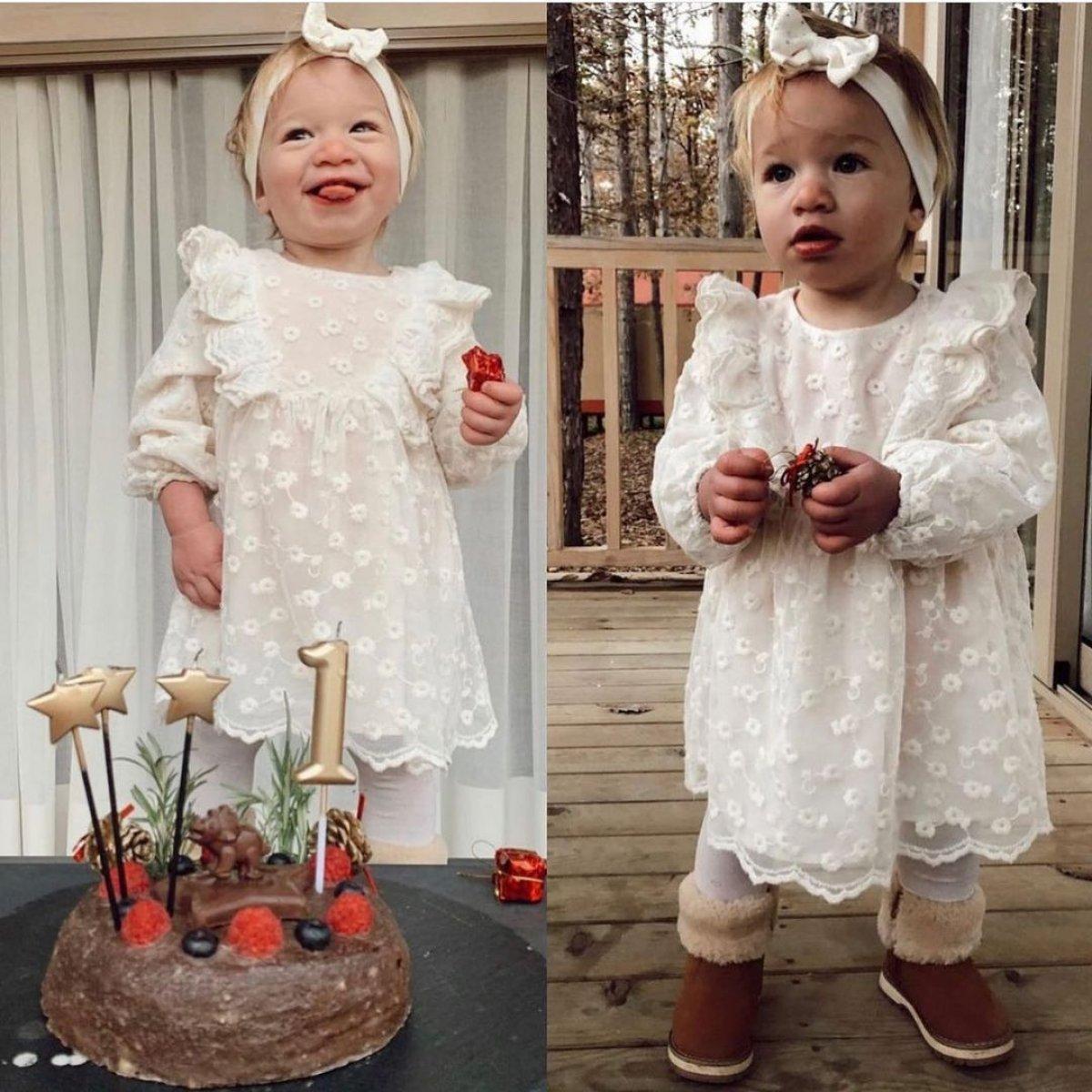 Müge Boz-Caner Erdeniz çiftinin kızları Vina 1 yaşında