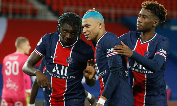 PSG evinde Lorient'ı 2-0 yendi