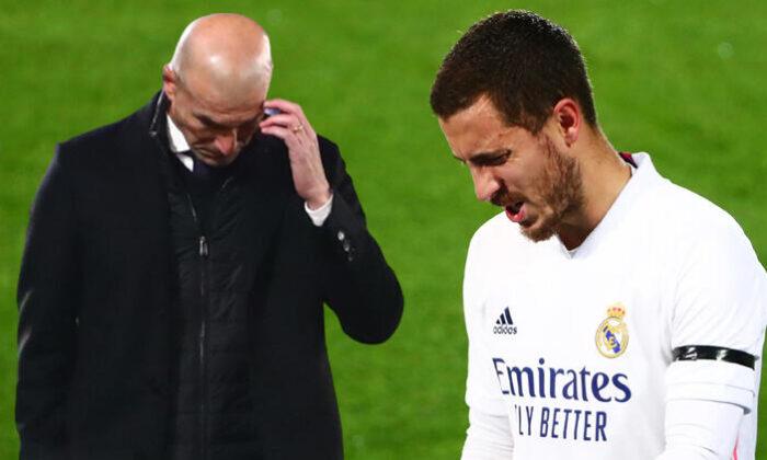 Real Madrid hem maçı hem Hazard'ı kaybetti