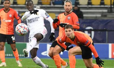 Shakhtar Donetsk 2-0 Real Madrid (Maç sonucu)