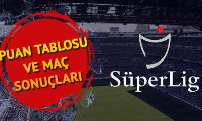 Süper Lig'de derbi sonrası puan durumu nasıl şekillendi? Süper Lig 10. hafta güncel puan tablosu