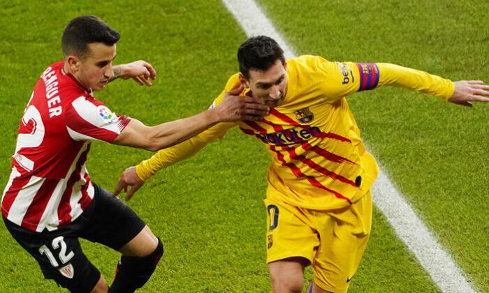 Barcelona, erteleme maçında Athletic Bilbao'yu deplasmanda yendi