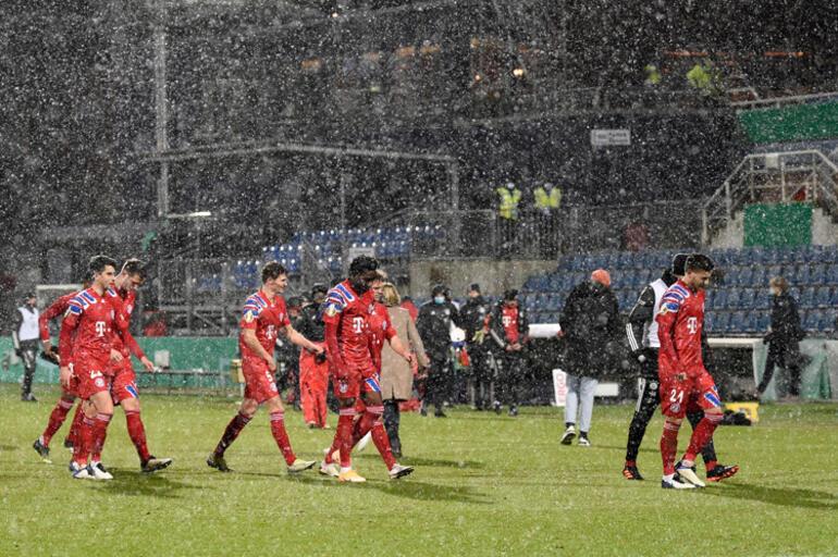 Bayern Münih kabusu yaşadı 2. lig ekibine elendi