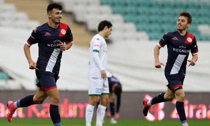 Bursaspor 0 – 3 Antalyaspor / Maç özeti ve golleri