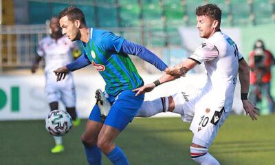 Çaykur Rizespor 1 – 1 Gençlerbirliği / Maçın özeti ve golleri