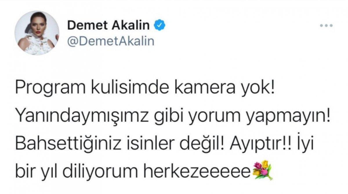 Demet Akalın 'tuvalet kirletme' iddialarını yalanladı