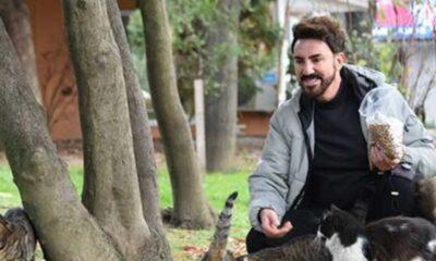 Faruk K.: Kediler için bir yıllık mama stoğu yaptım