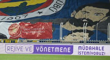 Fenerbahçeden reklam panosu ile Beinsportsa tepki