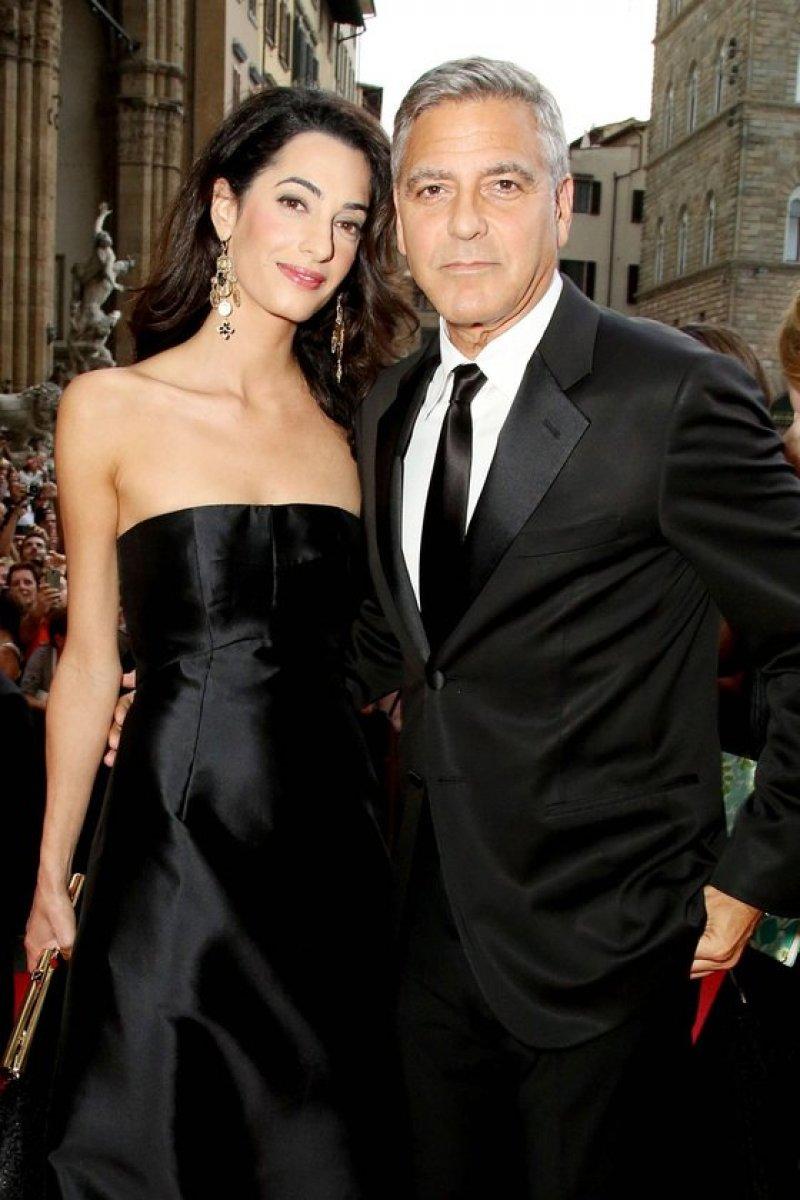 George Clooney - Amal Alamuddin çifti boşanıyor #1