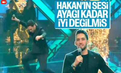 Hakan Çalhanoğlu O Ses Türkiye'de şarkı söyledi