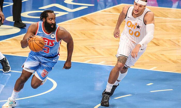James Harden, Nets kariyerine rekorla başladı / NBA'de gecenin sonuçları