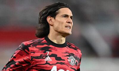 Manchester Unitedlı Cavani'ye 3 maç ceza