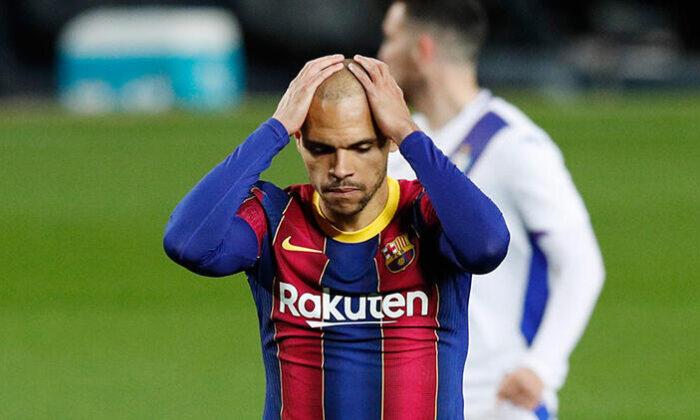 Messi'siz Barcelona sahasında Eibar'la 1-1 berabere kaldı