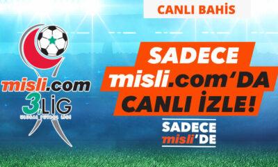 Misli.com 3. Lig Canlı Yayınları ve Canlı İddaa (6 Ocak)