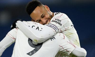 Premier Lig'de Arsenal'dan üst üste ikinci galibiyet