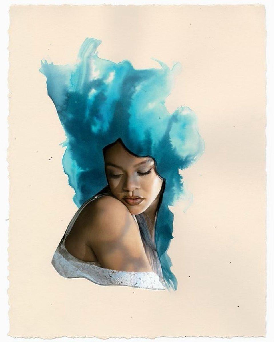 Rihanna'dan yeni pozlar