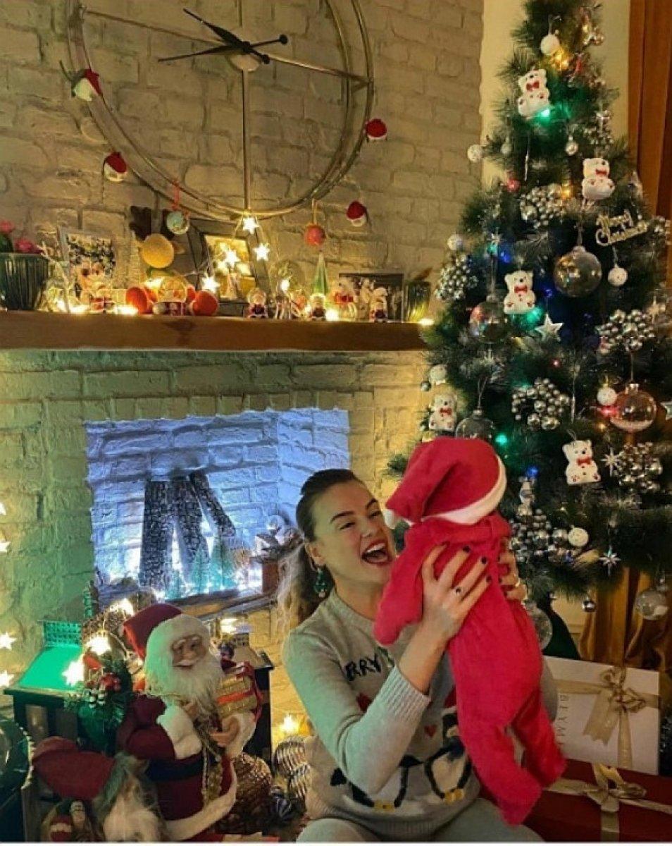 Seda Güven'den bebeğiyle ilk paylaşım